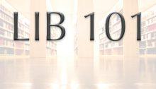 LIB 101
