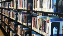 CSN Library's Stacks