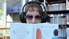 Stephanie reading