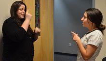 sign language conversation