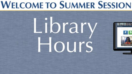 Library Hours for Summer