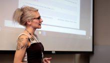 Becky teaching