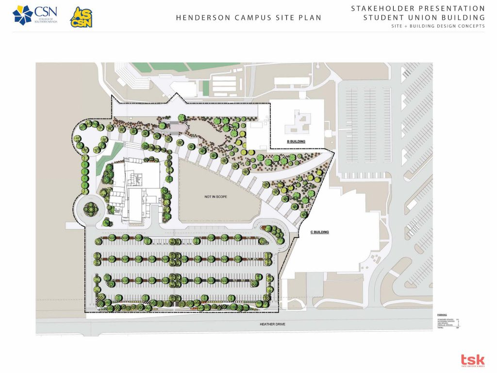csn henderson campus map Come See Csn S Student Unions csn henderson campus map