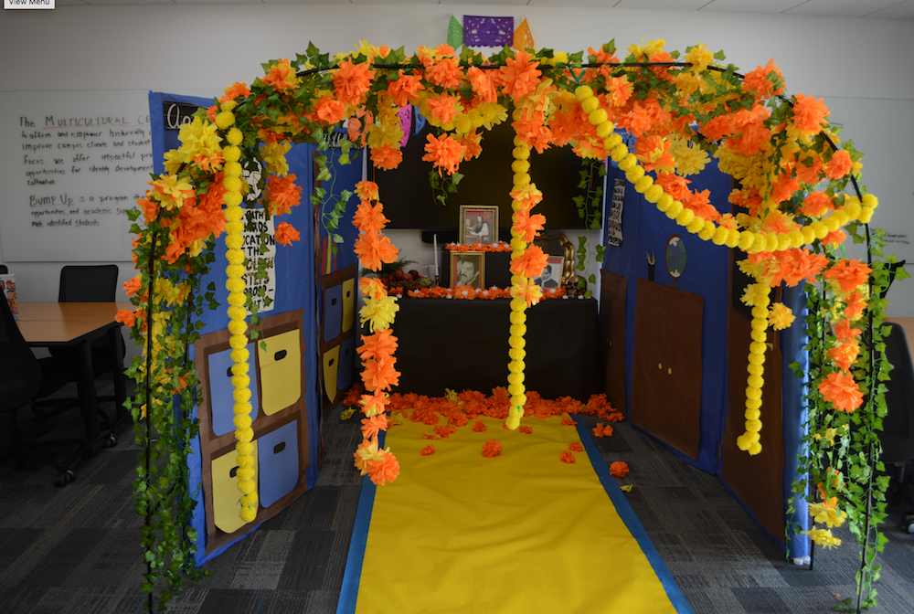 The CSN sponsored Day of the Dead altar is on display at the North Las Vegas Campus