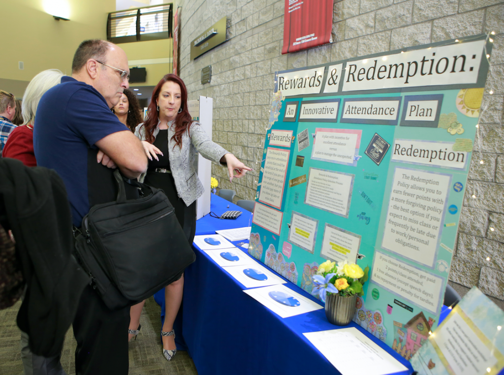 The Spring 2020 Convocation and Poster Fair marked the start of the new semester for faculty and staff.