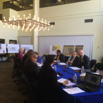 CSN's Institutional Advisory Council meets in the Laxalt Center on April 2.