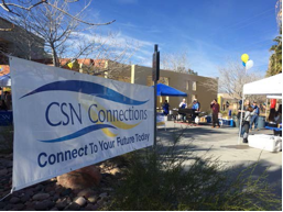 CSN Connections events took place on all three campuses this week to connect our students to the many student support services offered at CSN, including free tutoring, child care, advising and counseling and more. Thanks to all who participated to make these events a success!