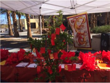 The Asian American Pacific Islander Heritage Committee hosted a Citrus Fruiting Event last month in celebration of the Monkey for Chinese New Year. More than 65 participants stopped by and received a tangerine, which is said to bring wealth and luck.