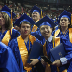 Students celebrate after the 2015 CSN Commencement. This year's event will take place tonight at 6 p.m. at the Thomas & Mack.